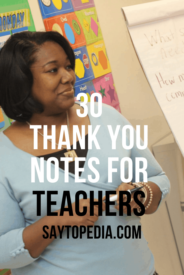 23 Best Examples of a Thank You Note Your Teacher Will Love